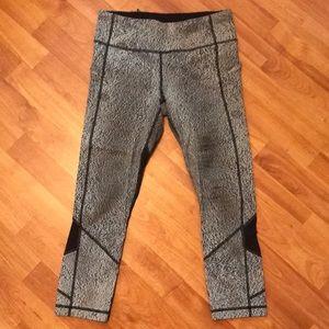 Gray lululemon workout pants